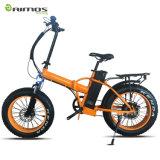 [فولدبل] دهن [إ] درّاجة إطار العجلة سمين كهربائيّة درّاجة طيّ