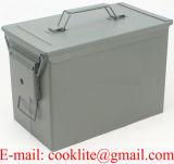 Munitionskiste Oliv Klein Mittel Transportkiste grueso Munikiste Kiste Metall Militarkiste/podemos