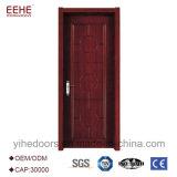 Projeto de madeira extravagante da porta para o hotel