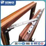 Profils en aluminium des graines en bois d'OIN pour le guichet /Door