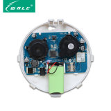 組み込み電池が付いているスマートなホーム使用GSMの煙探知器