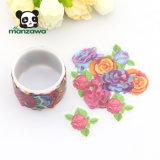 Bunte Blumen-klassisches Rose sortiertes Entwurf Washi Abdeckfolien-Aufkleber-Rollenband