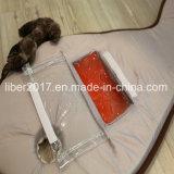 氷のマットおよびおもちゃが付いている方法デザイン魚の形の夏猫のベッド犬猫ペットベッド