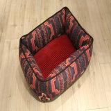 Vierkante OEM van het Bed van het Huisdier van de Bank van de Kat van het Product van de Hond van het Ontwerp van de Luxe van het Bed van de Hond