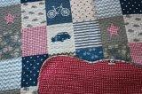 Kundenspezifische vorgewaschene haltbare bequeme Bettwäsche steppte die Bettdecke der Bettdecke-1-Piece, die für 68 eingestellt wurde