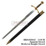 A decoração de espadas medievais espadas cruzadas espadas 113cm HK81028au