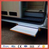 Certificado CE paso eléctrica deslizante para autocaravanas y caravanas con capacidad de carga 250kg.