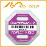 Het zelfklevende Breekbare Etiket van Shockwatch van de Waarschuwing 10g