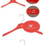 Firmenzeichen gedruckter Gummikleiderbügel für Mantel