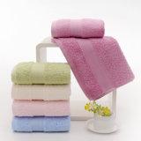ホテル/ホーム綿の表面/浴室/手/ビーチタオル