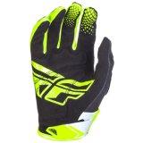 Fly Racing кинетических мужская Mx внедорожного перчатки черно-белого цвета