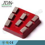 Abrasivo consolidado de Francfort del diamante del metal para el granito de mármol