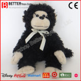 Jouets mous bon marché de peluche de singe de noir de peluche de jouet