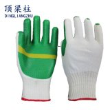 В полной мере Plam T/C ламината с покрытием из латекса Перчатки рабочие перчатки защитные перчатки