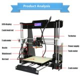 A8 de haute précision nouvel ordinateur de bureau chinois de bricolage de grande taille pour les grossistes de l'imprimante 3D avec le libre-filament