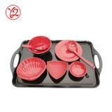 Dinnerware меламина сразу оптовых заманчивостей фабрики цветастый установленный для обедать