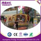 12 plazas pequeñas atracciones de feria infantil Carrusel Ride