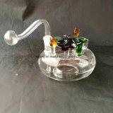 熱いカラーガラスBubblars手の煙る管の水ぎせるの管