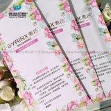 Gefaltetes Kunstdruckpapier-farbenreiches Broschüren-Blättchen-Drucken des Flugblatt-200GSM glattes