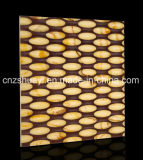 strato di superficie solido del comitato di parete del PVC 3D