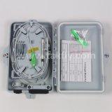 FTTH Council 4 Caixa de terminação de fibra de porta, caixa de divisor de Fibra Óptica