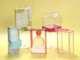 Изготовленный на заказ напечатанная цветом упаковки игрушки PVC/PP/Pet коробка пластичной упаковывая складывая с окном
