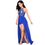 도매를 위한 Elegant Chiffon Halter Jumpsuit 새로운 숙녀