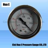 Boîtier en acier inoxydable de 2 pouces de jauge de pression à sec