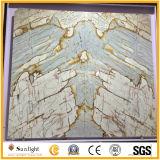 Естественный каменный мраморный роскошный Onyx для нутряного украшения, стены предпосылки
