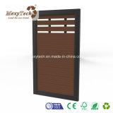 Venta caliente al aire libre Jardín personalizados WPC Valla puerta para la venta