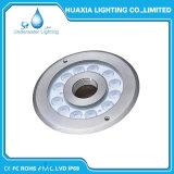 Blanco caliente, RGB, 36W, luz subacuática de la boquilla de la fuente de 24VDC LED
