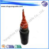Изолированный Water-Proof XLPE PE оболочку кабеля питания