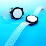 13.56MHz justierbarer FM08 transparenter RFID Wristband