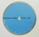 La prensa caliente Super delgado Diamante Turbo fina hoja de sierra para cortar azulejos de cerámica