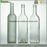 antike Olivenöl-Flasche des grünen Glas-500ml/250ml mit Schraubverschluss- (NA-057)