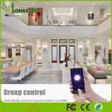 10W E26 4 polegadas Downlights rebaixada multicolor luz casa inteligente controlado por voz