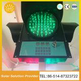 省エネの交通信号は太陽道路交通LEDライトをつける