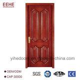 A porta de madeira contínua fornecida fábrica de China modela Guangzhou