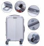 Bagagli di viaggio variopinti, valigia pura poco costosa di colore di ABS+PC (XHP067)