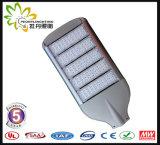 8 anos novos da garantia 130lm/a luz de rua do diodo emissor de luz potência solar de W 250W, lâmpada de rua do diodo emissor de luz, luz da estrada do diodo emissor de luz
