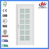 Составная двойная французская дверь стекла твердой древесины