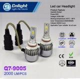 A melhor qualidade H1 H3 H4 H7 H11 9005 9006 auto luz de 9012 diodos emissores de luz com função diferente para todos os carros dos tipos
