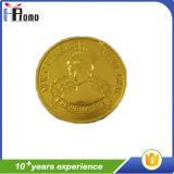安く柔らかいエナメルの記念品の昇進のギフトの金属アルミニウム硬貨