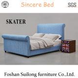 Верхней части конструкции американском стиле ткань кровать современной спальне кровати SK25