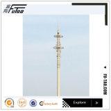 120FT Monopole Gegalvaniseerde Toren met Hete ONDERDOMPELING