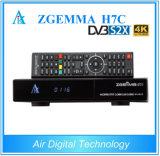 Zgemma H7c DVB-S2X 2*DVB-T2/C 4K UHD Multistream 인공 위성 수신 장치