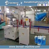 Macchina per l'imballaggio delle merci di imballaggio con involucro termocontrattile di calore per la riga di riempimento dell'acqua