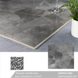 600X600mm中国フォーシャンの灰色カラーによって艶をかけられる大理石の磨かれた磁器の床タイル(VRP6H187D)