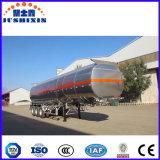 De Aanhangwagen van de Olietanker van het aluminium Van 36000L