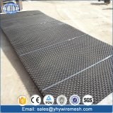 高炭素の鋼鉄によってひだを付けられる砂および砂利のシェーカースクリーンの網